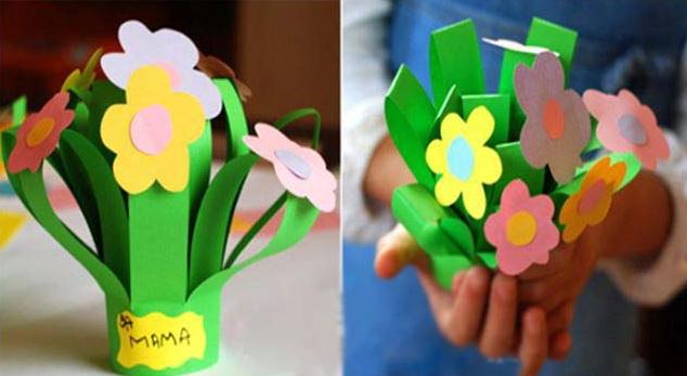 Подарки своими руками для мам 1 класс
